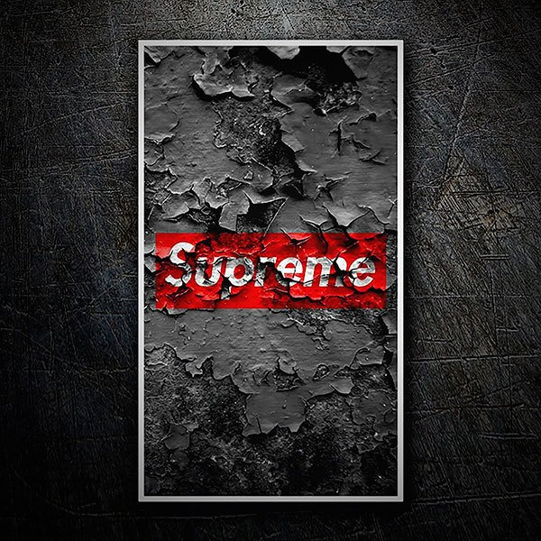 Pegatinas: Supreme pared