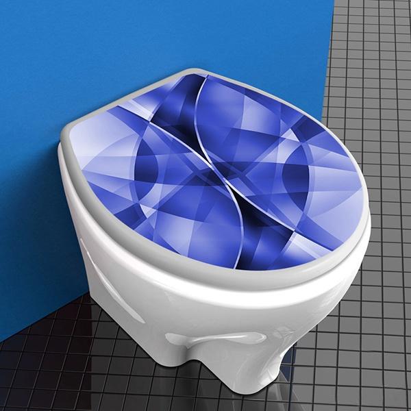 Vinilos decorativos para el ba o y el wc for Tapa de water