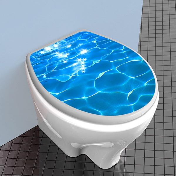 Tapa wc agua reflejo for Wc sin agua