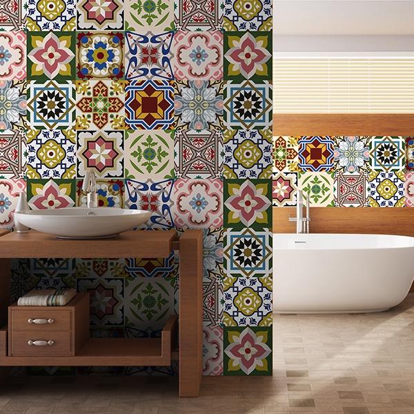 Azulejos decorativos para cocinas affordable encimera for Azulejos clasicos