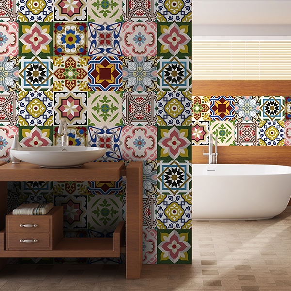 Vinilos para azulejos for Adhesivos neveras decoracion