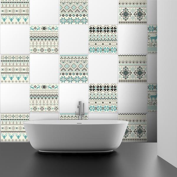 vinilos decorativos de azulejos teleadhesivo On vinilos decorativos para azulejos