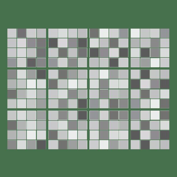Vinilo decorativo kit 48 vinilos para azulejos mosaico de - Vinilos decorativos azulejos ...