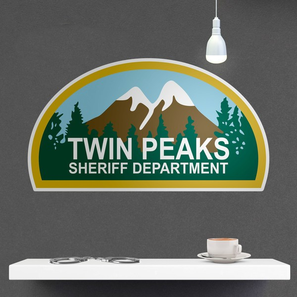 Vinilos Decorativos: Twin Peaks Sheriff Department