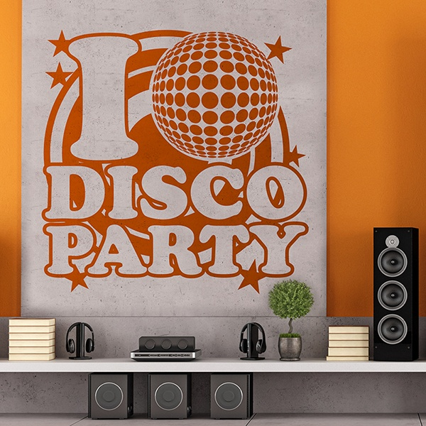 Vinilos Decorativos: DiscoParty 0