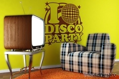 Vinilos Decorativos: DiscoParty 2