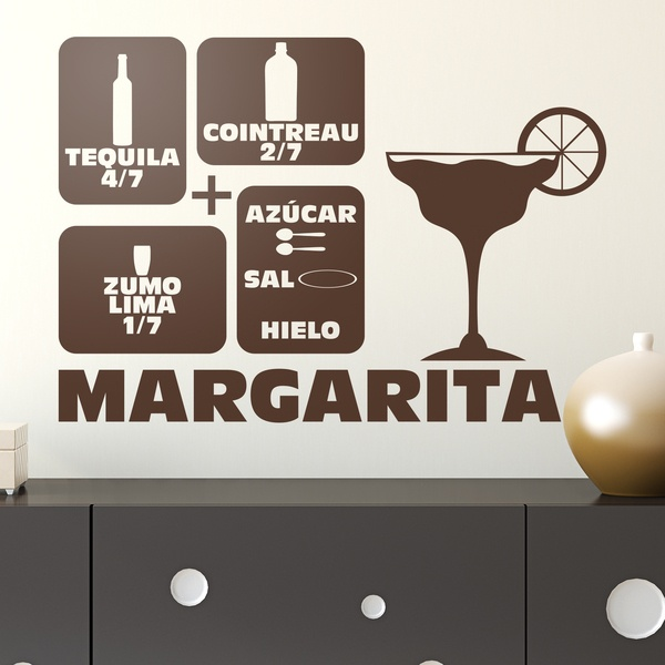 Vinilos Decorativos: Cocktail Margarita