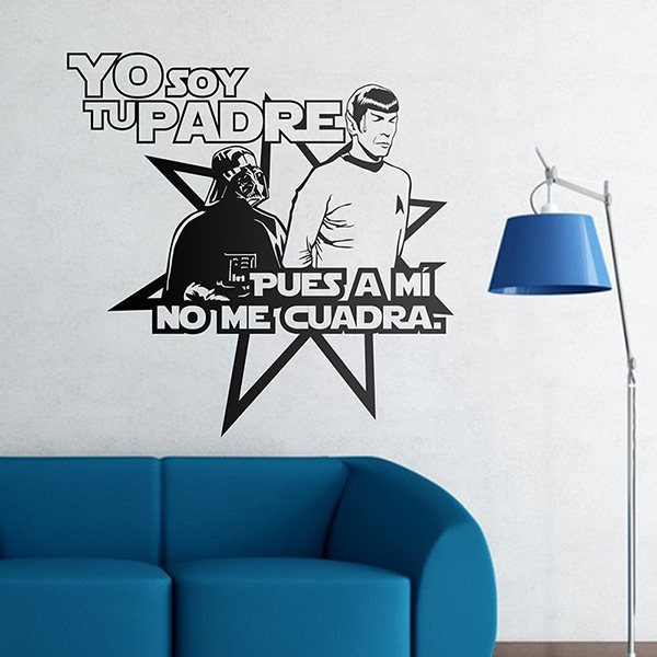Vinilos Decorativos: Star Wars + Star Trek
