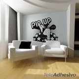 Vinilos Decorativos: Pin Up Girl 2