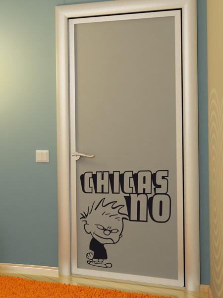 Decorar puertas con vinilos autoadhesivos eroski consumer - Letras infantiles para puertas ...