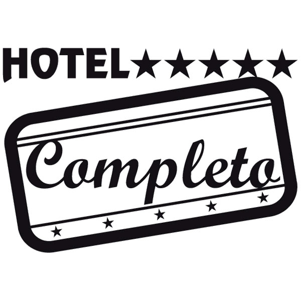 Pegatinas: Hotel Completo classic