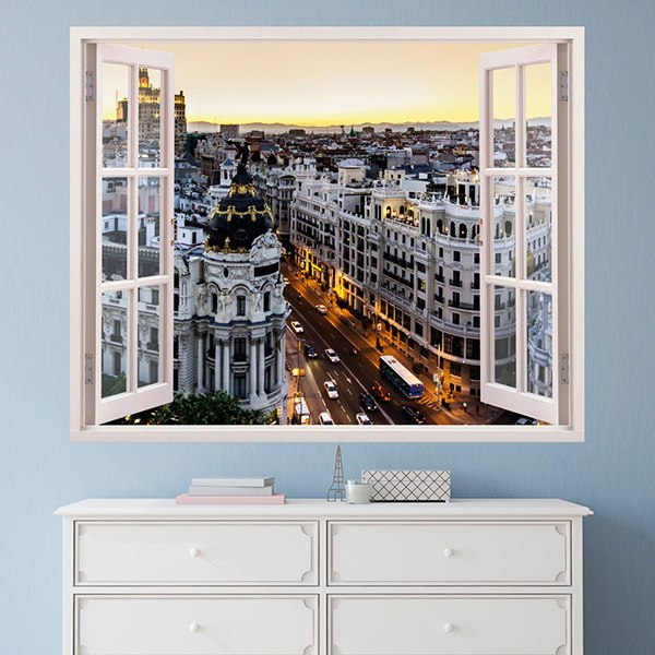 Gran v a en madrid - Teleadhesivo vinilos decorativos espana ...