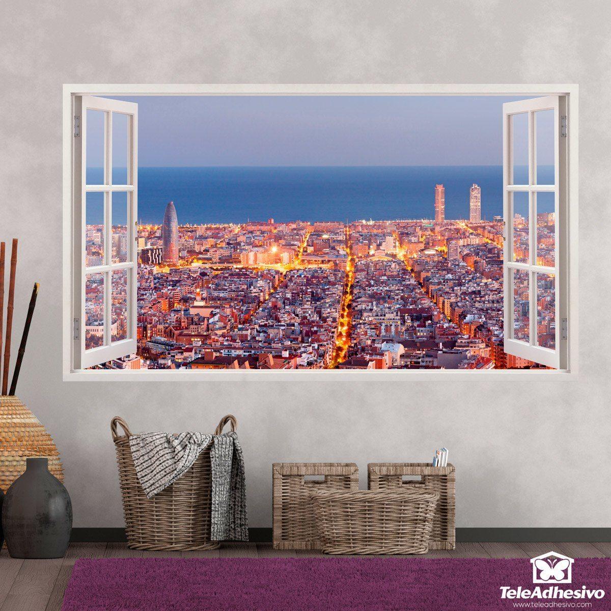 Pegatinas para decorar en forma de ventana teleadhesivo - Teleadhesivo vinilos decorativos espana ...