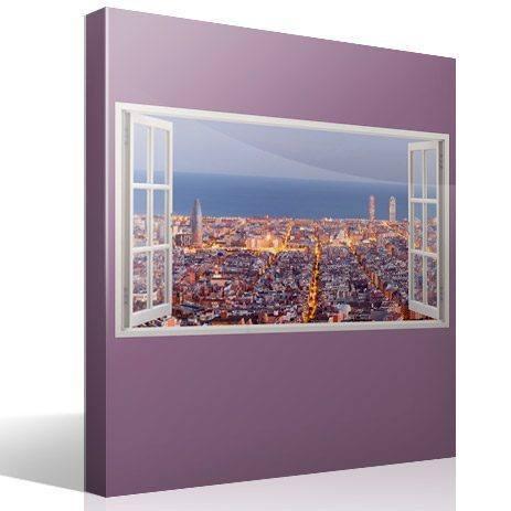 Pegatinas para decorar en forma de ventana teleadhesivo - Vinilos decorativos en barcelona ...