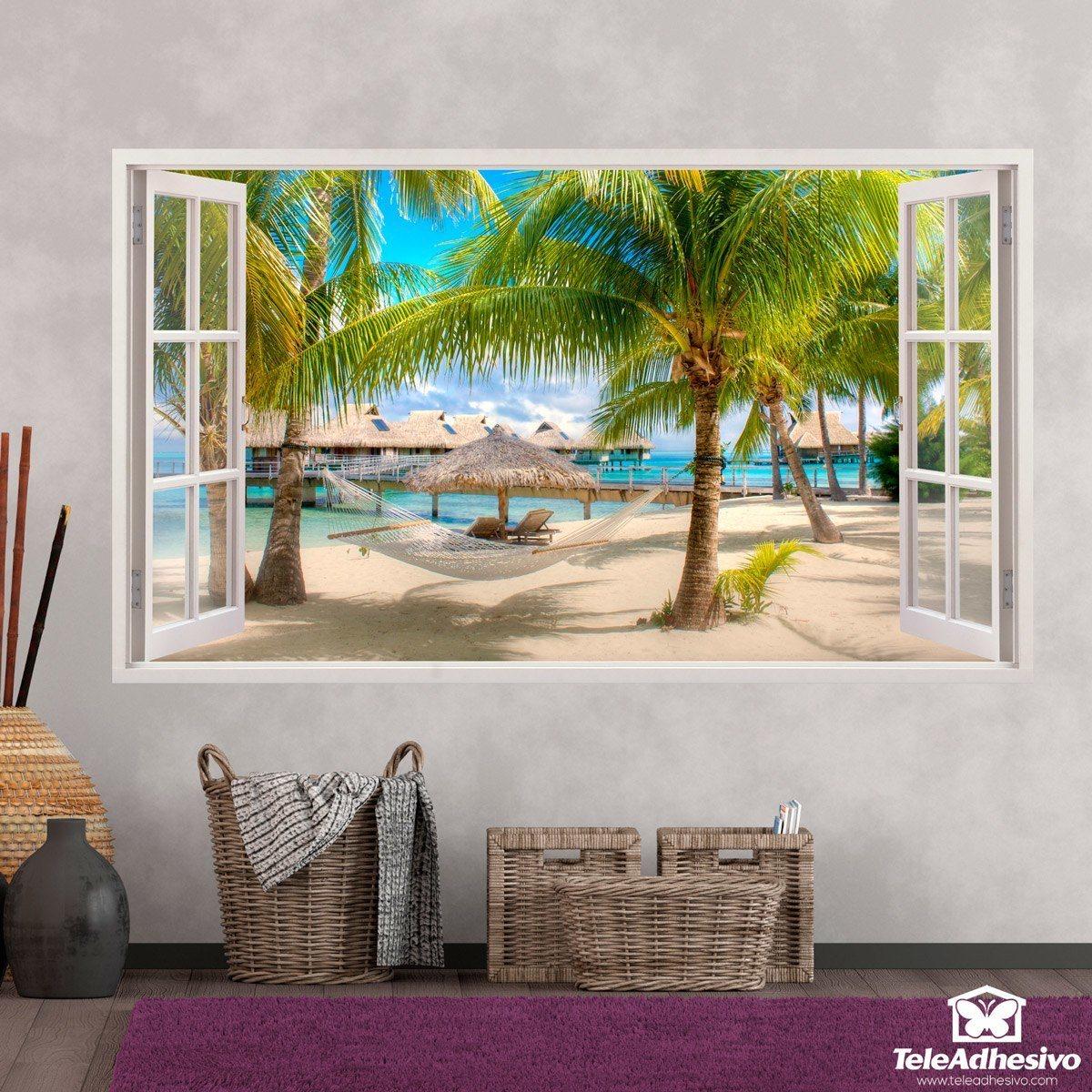 Vinilos adhesivos decorativos de ventanas teleadhesivo - Posters de vinilo ...