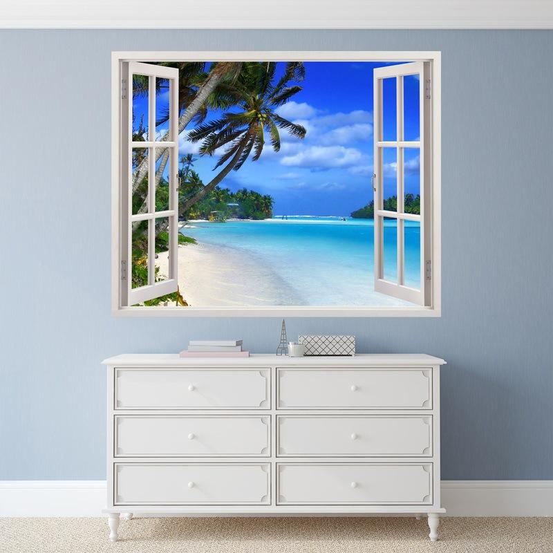 Vinilo decorativo ventana a Punta Cana