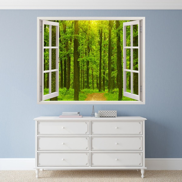 Vinilos Decorativos: Fir Forest 1