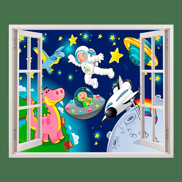 Habitaciones Infantiles Decoradas Del Espacio Con Cohetes
