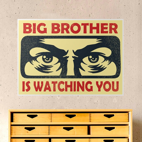 Vinilos Decorativos: Big brother is watching you
