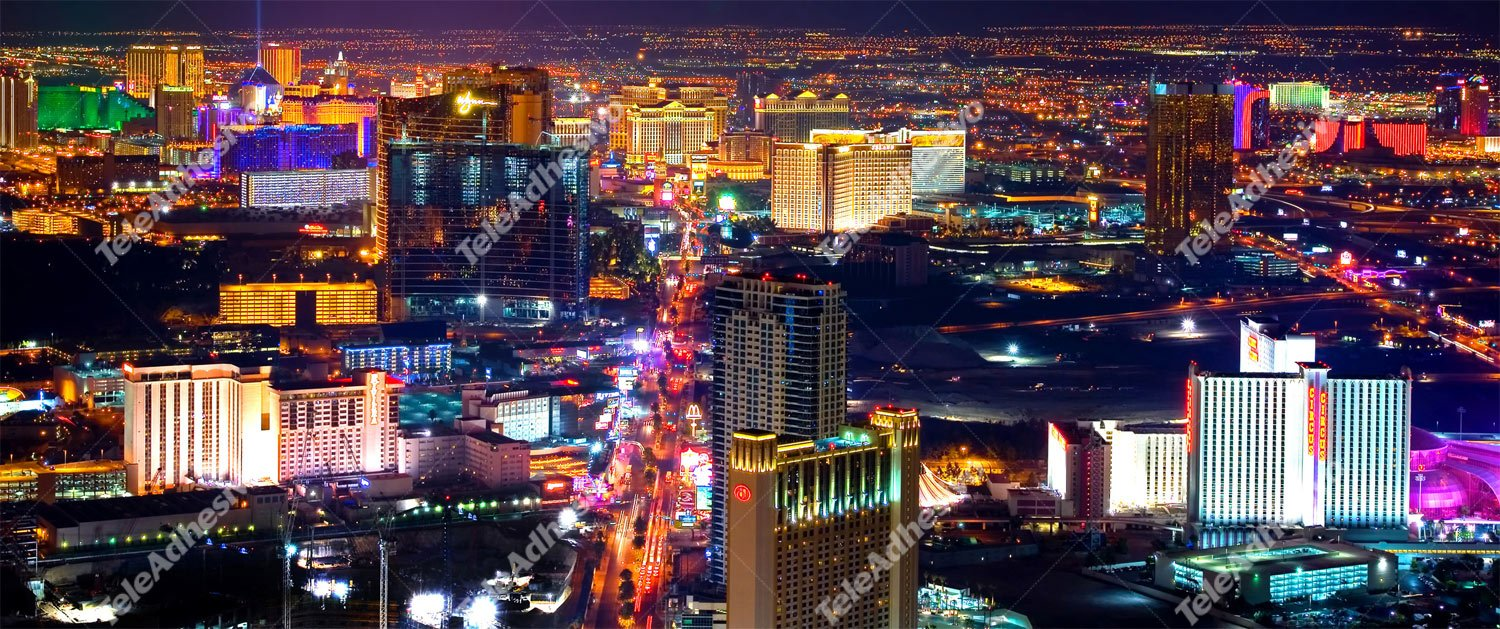 Fotomurales: Las Vegas at Night