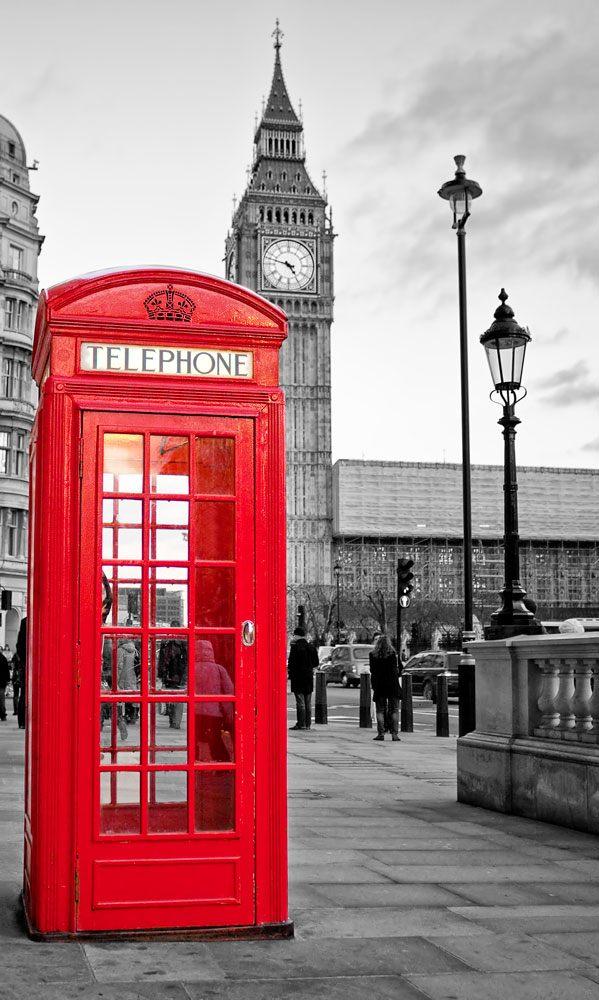 Fotomurales: Cabina London