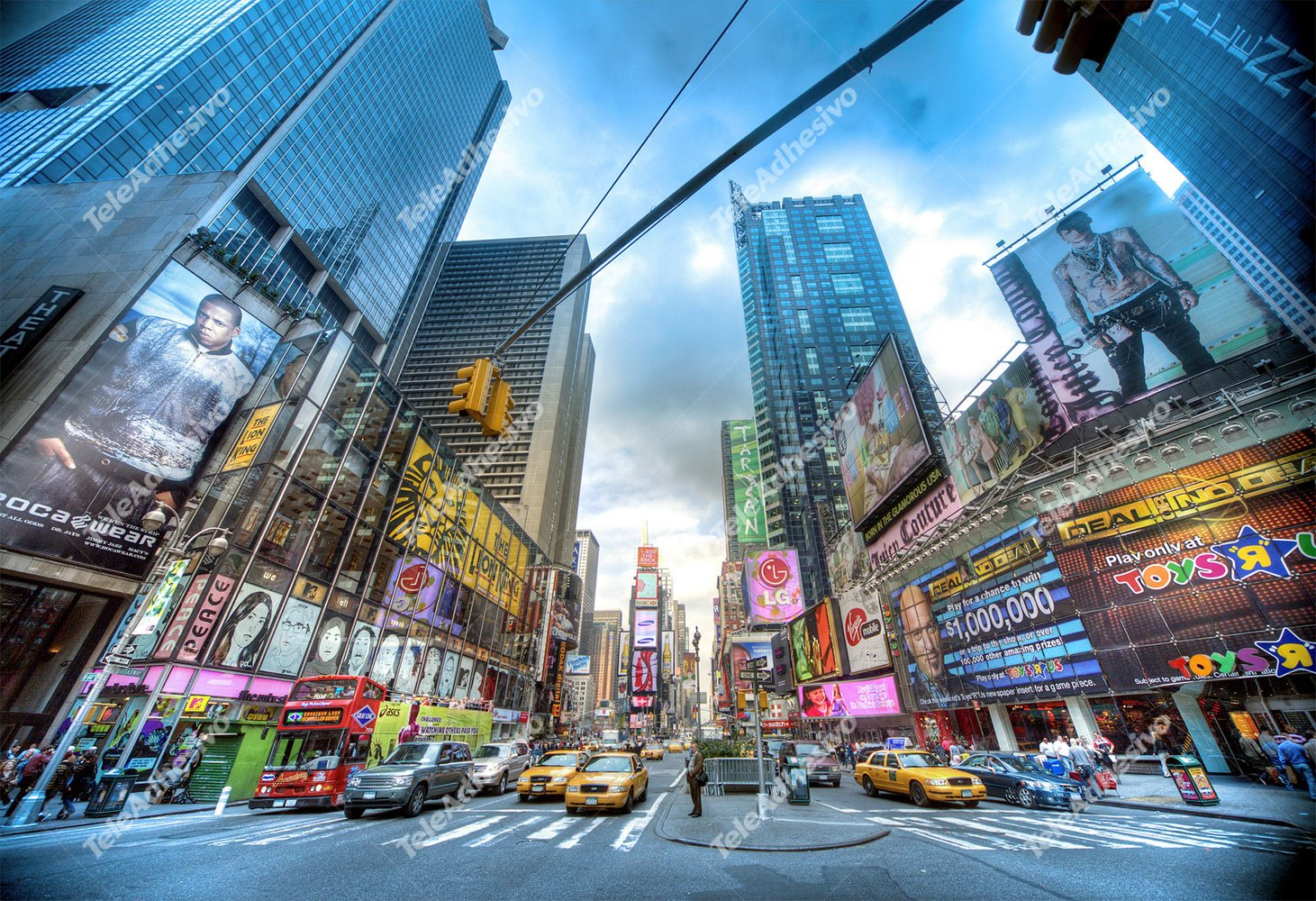Fotomurales: Times Square