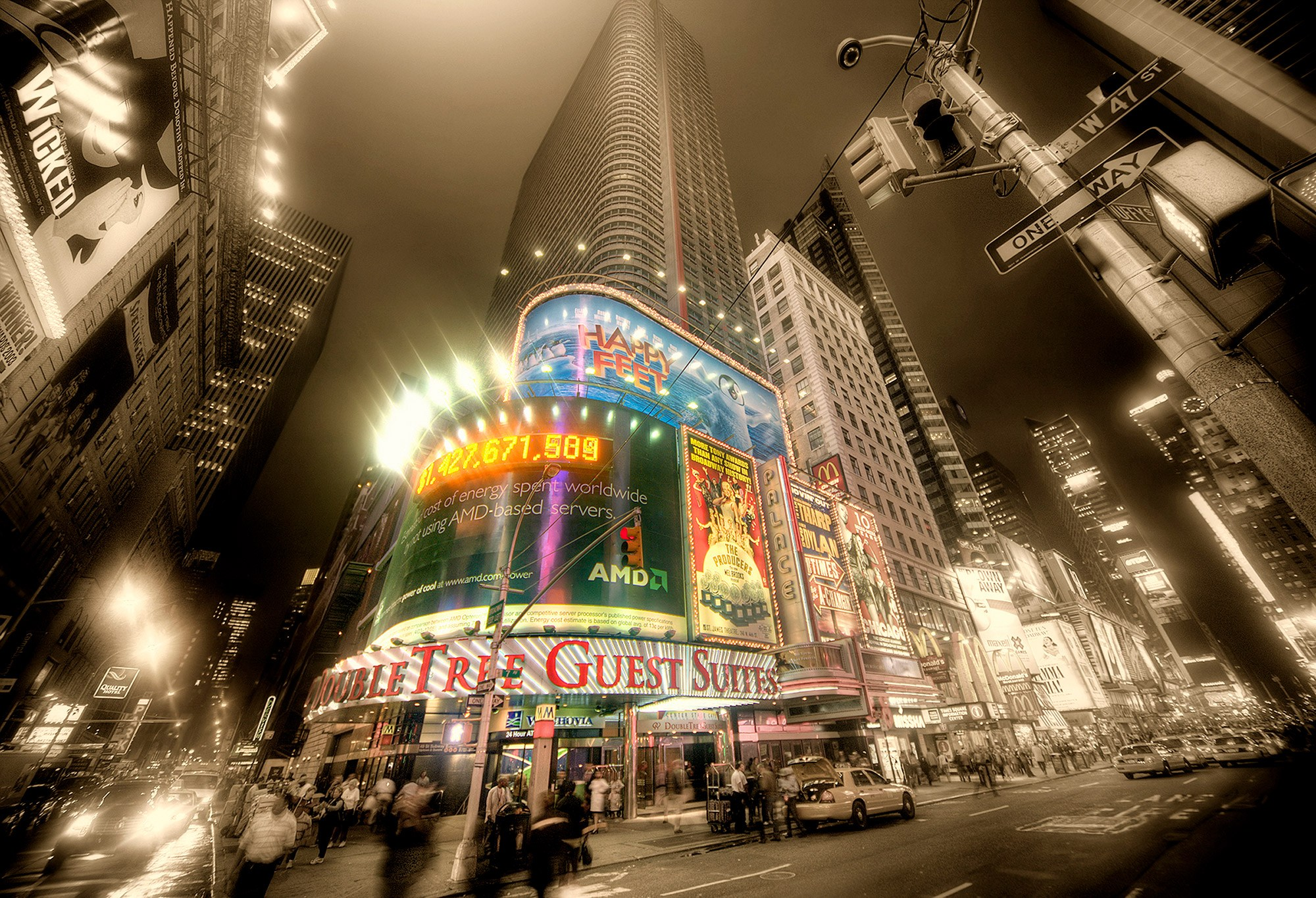 Fotomurales: Times Square, publicidad
