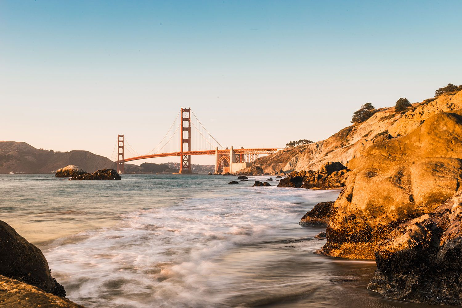 Fotomurales: Puente Golden Gate de San Francisco