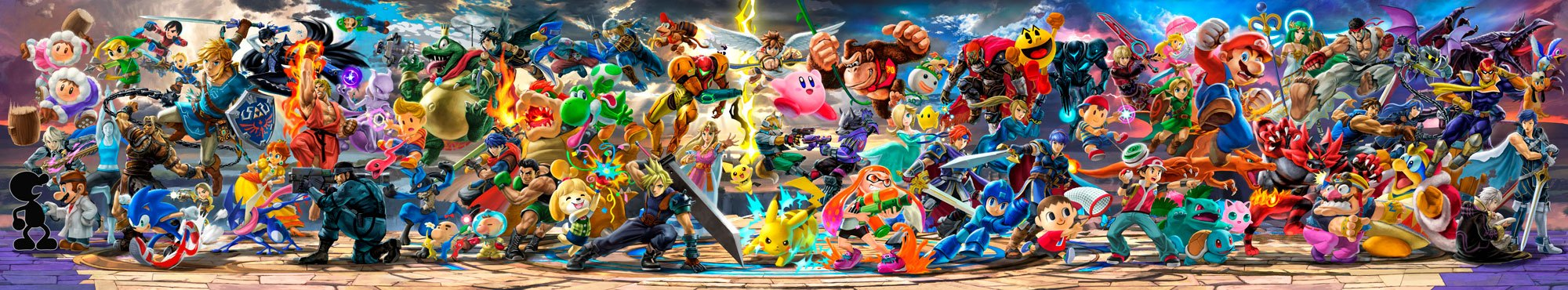 Fotomurales: Super Smash Bros Ultimate